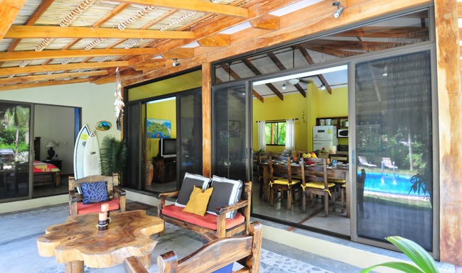 Costa Rica - Santa Teresa Beachfront House for Rent