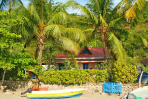 Beachfront house to rent in Montezuma