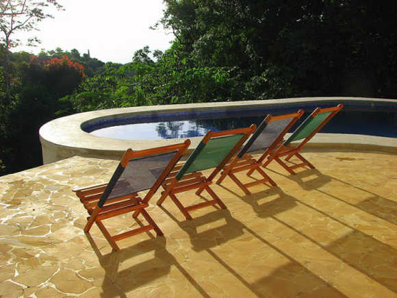 Montezuma ocean view villa with a pool to rent